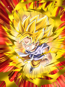 Saiyan Power Unleashed Super Saiyan Goku (GT)