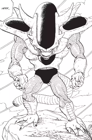 TEQ Third Form Frieza Origin