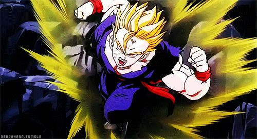 Pride of the Strongest Fighter Super Saiyan 2 Teen Gohan Card Art Origin