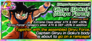 Ginyu Force Reborn Ginyu (Goku) (Ginyu Force)