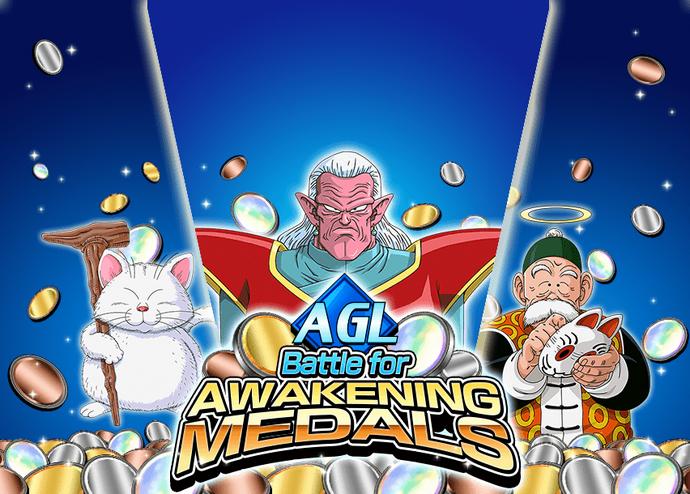 Event AGL awakening medals