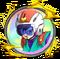 Great Saiyaman 2 medal
