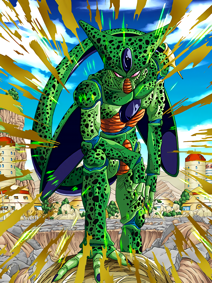 Android Evolution Cell (1st Form) | Dragon Ball Z Dokkan Battle ...