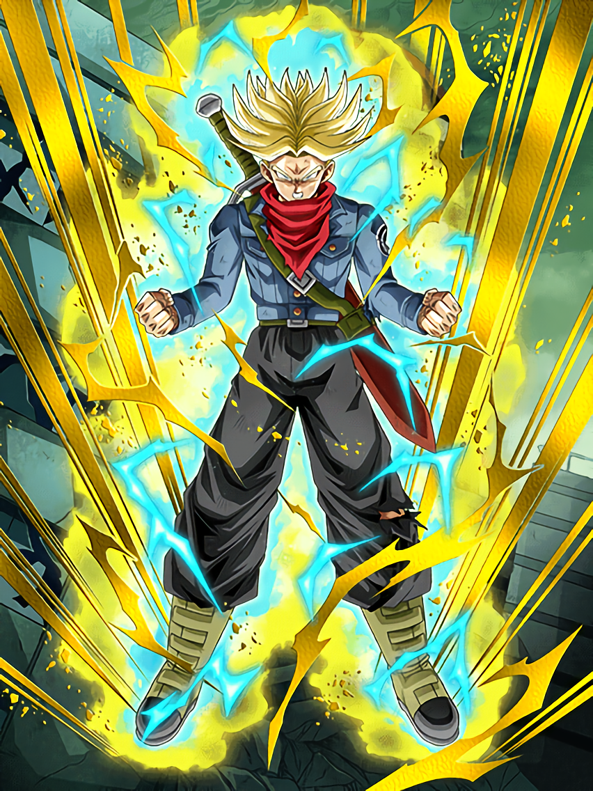 the future s last hope super saiyan trunks future dragon ball z