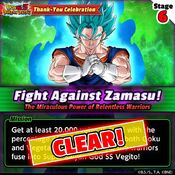 Fight Against Zamasu 6 clear
