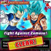 Fight Against Zamasu 4 clear