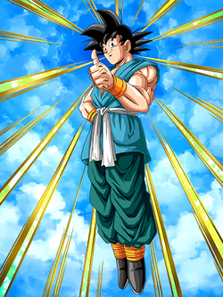 Reaching New Heights Goku
