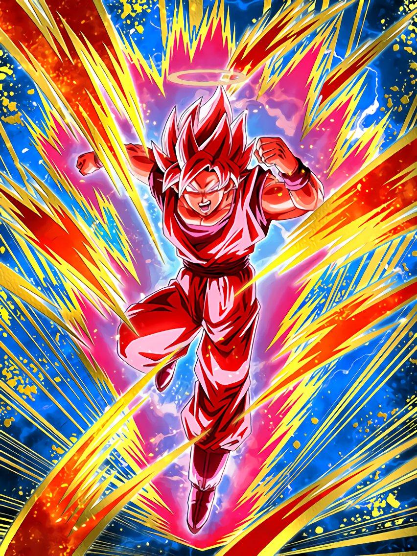 Victory Sealing Super Attack Super Saiyan Goku Angel