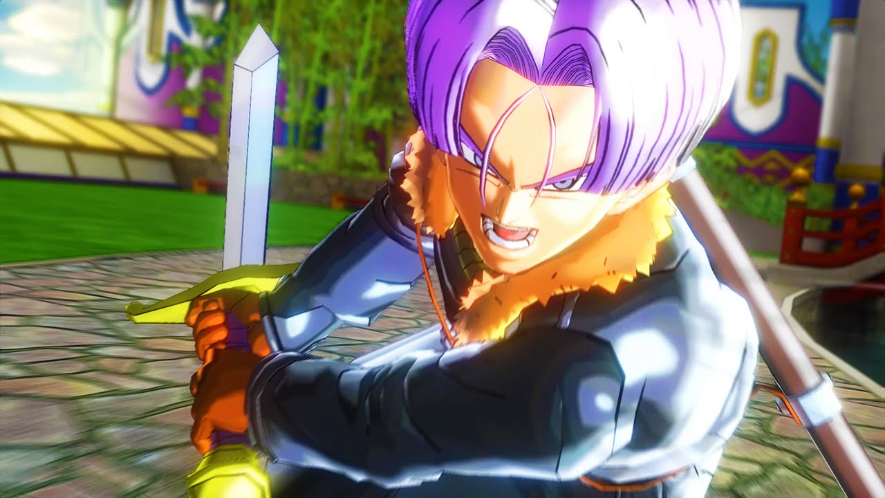 Trunks rushes in