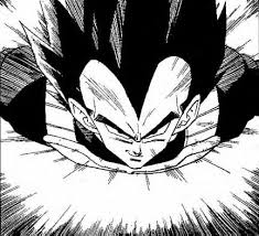 Fearless Departure Vegeta Origin