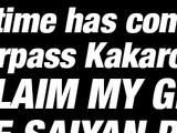 Awakened Super Saiyan Blood Super Saiyan Vegeta