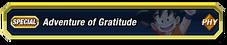 Adventure of Gratitude