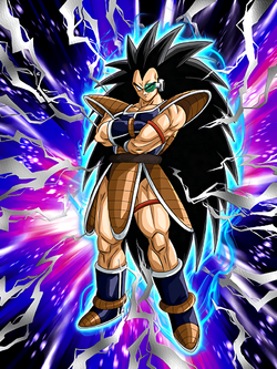 Artwork Raditz int ssr