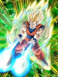 Powerful Offense Super Saiyan 2 Goku