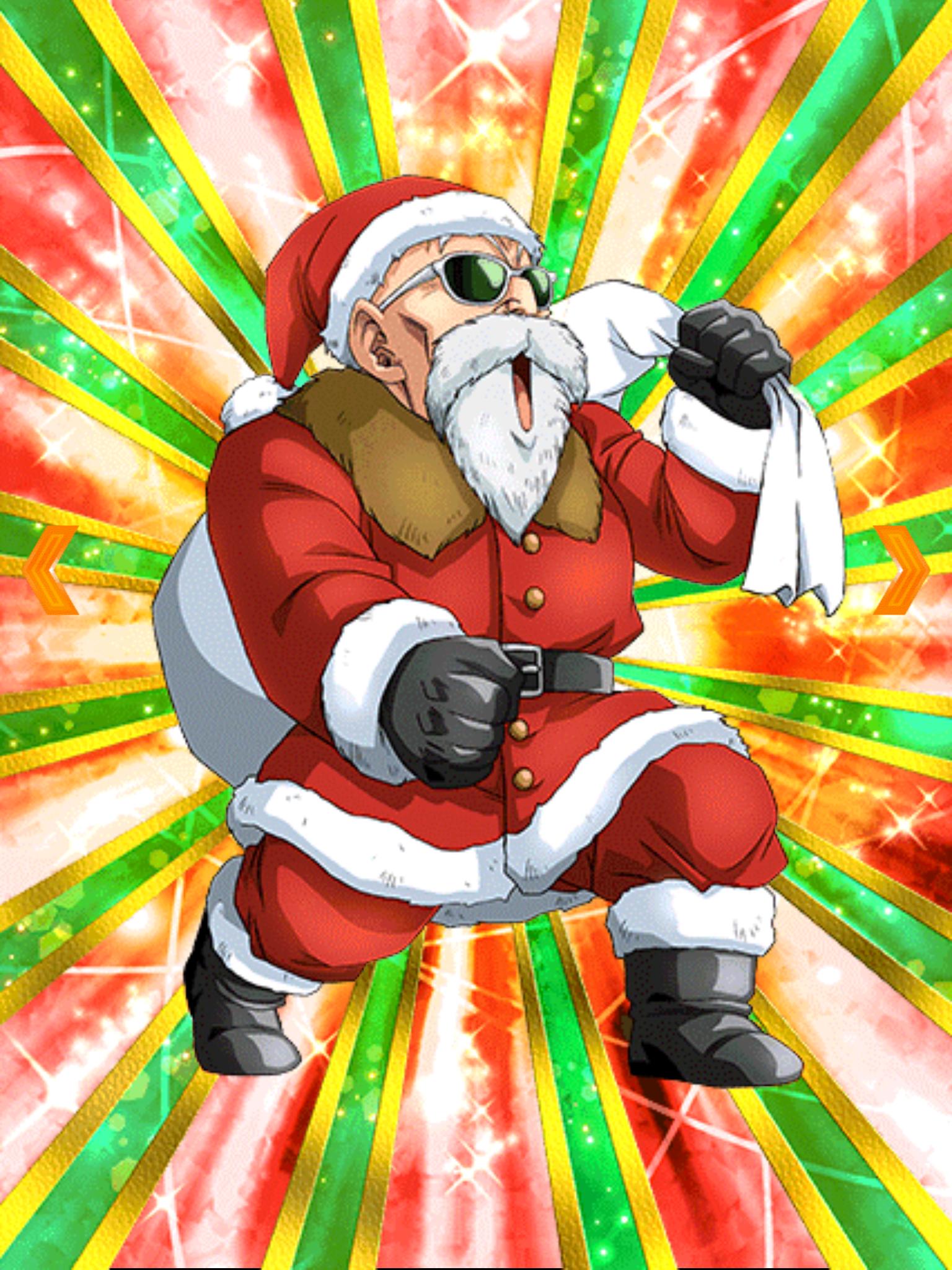 Thrilling Christmas Eve Master Roshi (Santa) | Dragon Ball ...