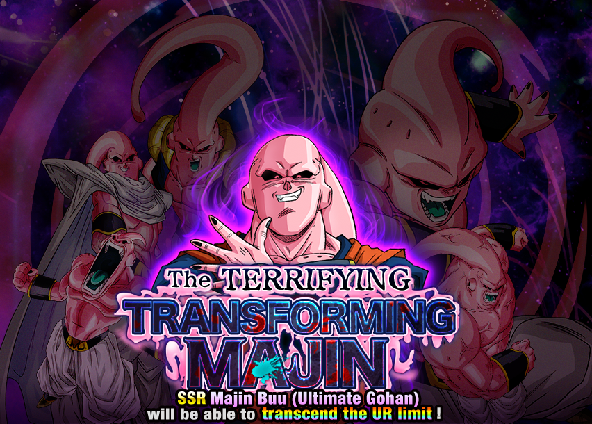 The Terrifying Transforming Majin | Dragon Ball Z Dokkan Battle