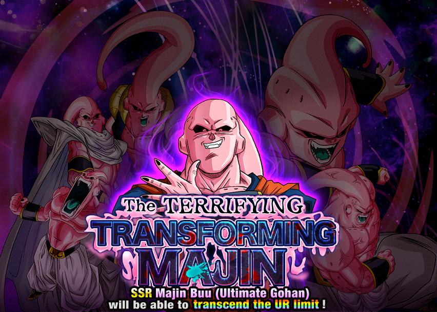 The Terrifying Transforming Majin | Dragon Ball Z Dokkan