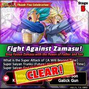 Fight Against Zamasu 5 clear