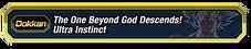 Transcendent Descent Ultra Instinct