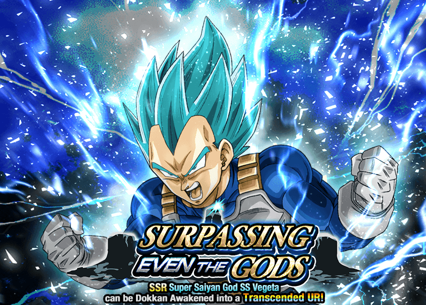 Surpassing Even the Gods | Dragon Ball Z Dokkan Battle Wikia