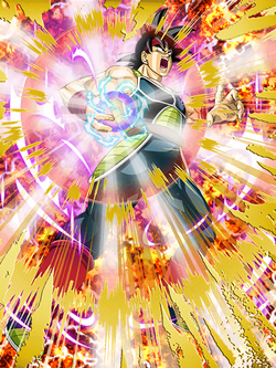 Solitary Warrior Bardock