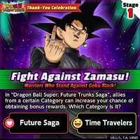 Fight Against Zamasu 1