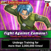 Fight Against Zamasu 2