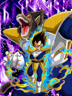 Great Ape Vegeta Card