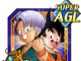 Budding Warrior Trunks (Kid) & Goten (Kid)