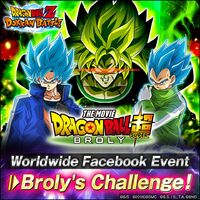 Facebook Broly Challenge