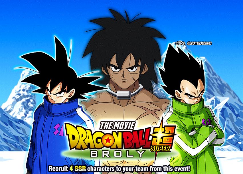 Dragon Ball Super Broly Dragon Ball Z Dokkan Battle Wikia