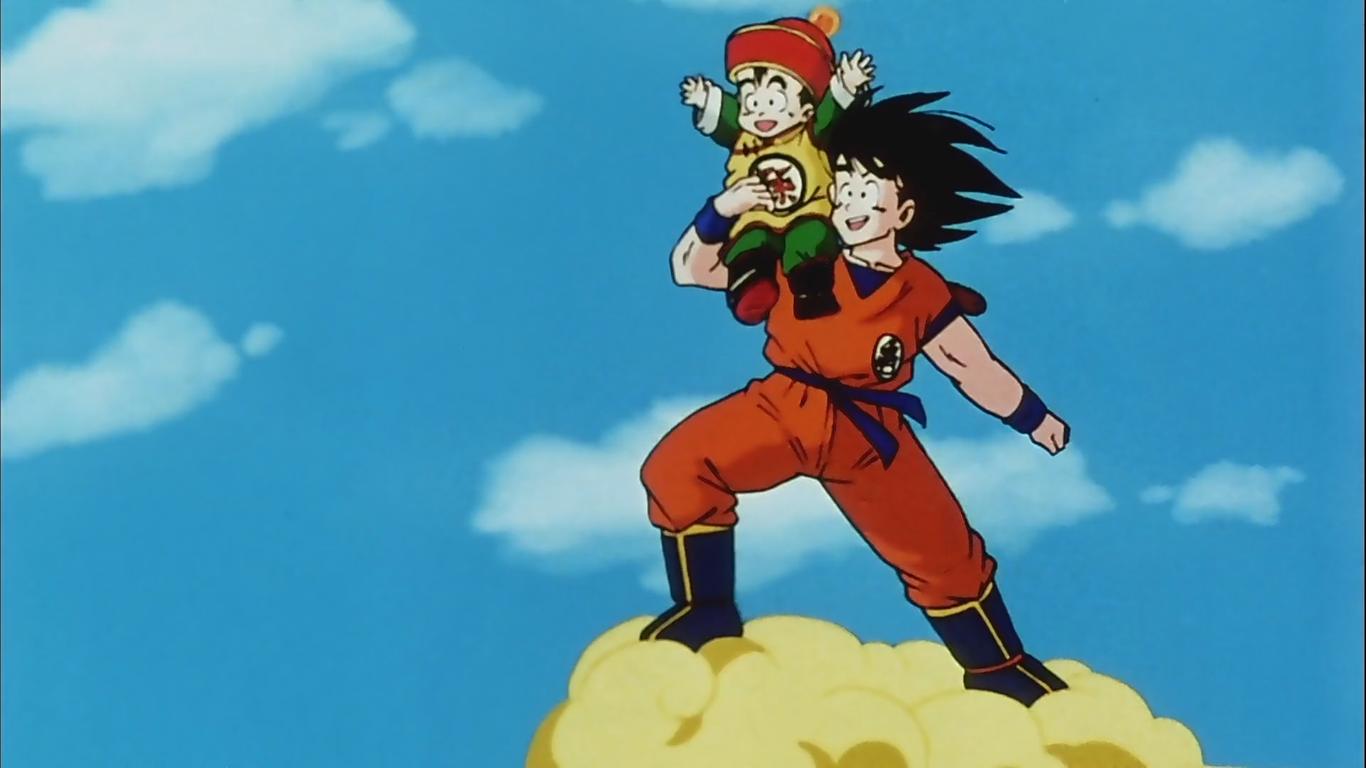 Infinite Curiosity Goku Origin