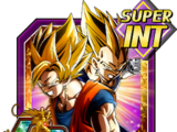 Fused Super Power Super Saiyan Goku & Super Saiyan Vegeta