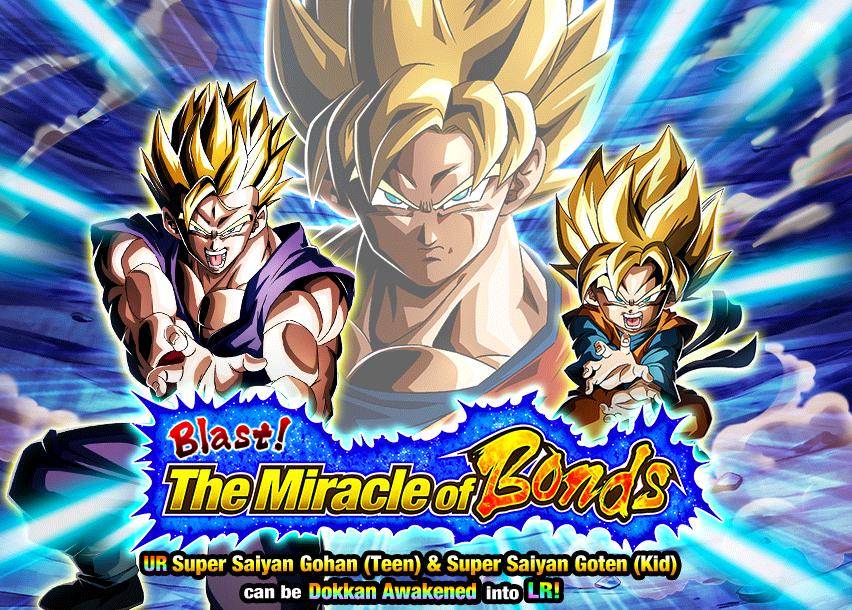 Blast! The Miracle of Bonds! | Dragon Ball Z Dokkan Battle