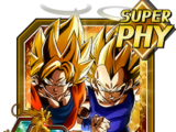 Fused Fighting Force Super Saiyan Goku (Angel) & Super Saiyan Vegeta (Angel)