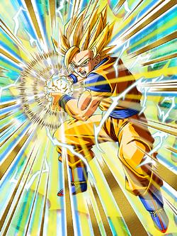Unlimited Power Super Saiyan 2 Goku