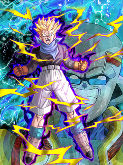 Super Saiyan Trunks (GT) (Infected)