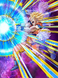 Miraculous Kamehameha Super Saiyan Goku