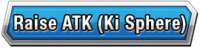 Raise ATK (Ki Sphere) Skill Effect