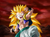 Extreme Z-Battle: Grim Reaper of Death's Rampage Super Saiyan 3 Gotenks