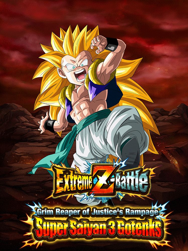 Extreme Z-Battle: Grim Reaper of Death's Rampage Super Saiyan 3