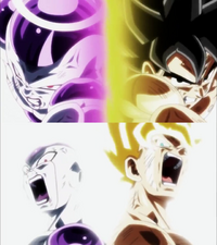 LR Goku and Frieza Origin
