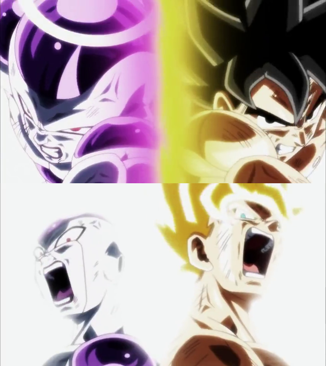 LR Goku and Frieza Origin