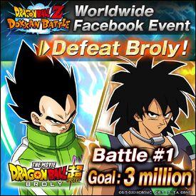 Facebook Broly Event Battle 1