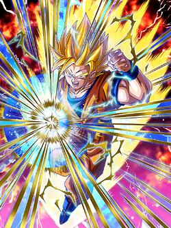 Aiming for the Top Super Saiyan 2 Goku