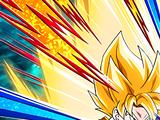 Saiyan Who Keeps Fighting Super Saiyan Goku