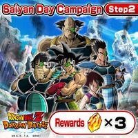 Saiyan Day Campaign Step 2