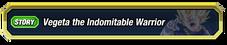 Vegeta the Indomitable Warrior