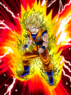 White Hot Face-Off Super Saiyan Goku
