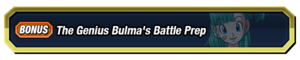 Genius Bulma's Battle Prep